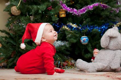 Alle Jahre wieder: 5 Weihnachtstipps für ein sicheres Fest mit Baby