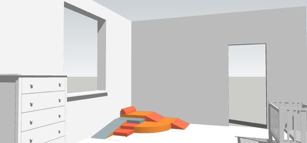 © planen pro qm Podest mit zahlreichen kombinierbaren Funktionsmöglichkeiten: Treppenstufen, schiefe Ebene, … aus Holz, Schaumstoff oder beides kombiniert