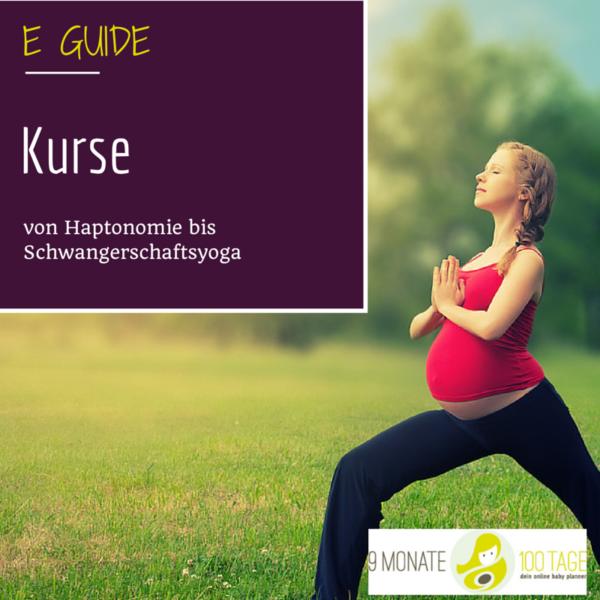 e-guide kurse schwangerschaft baby