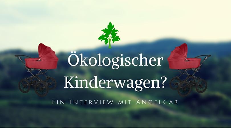 Ökologischer Kinderwagen und auch noch schick?