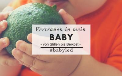 In mein Baby vertrauen –  von Stillen bis Beikost #babyled