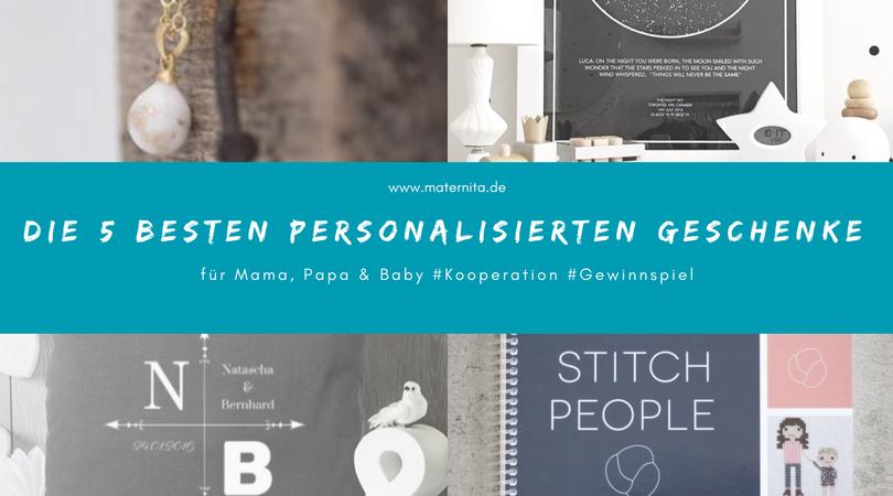 Die 5 besten personalisierten Geschenke #kooperation #verlosung