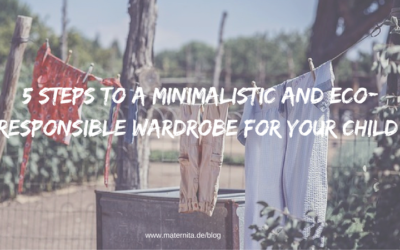 5 steps to a minimalistic and eco-responsible wardrobe for your child