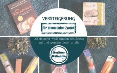 Adventsversteigerung für die Berliner Kältehilfe