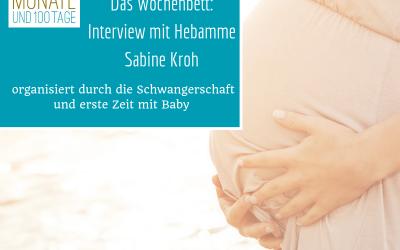 Podcast #4 – Das Wochenbett: Interview mit der Hebamme Sabine Kroh (Werbung)